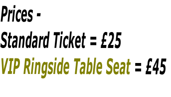 Prices - 